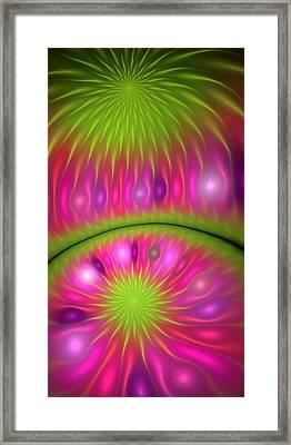 Computational Fruit Framed Print by Georgiana Romanovna