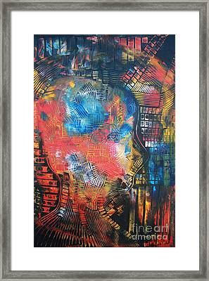 Anatomy Framed Print by Michael Kulick