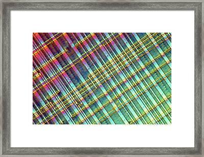 Computer Memory Chip Framed Print