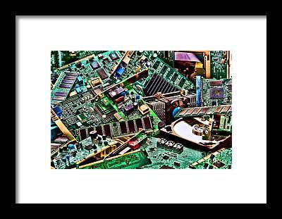 Printed Circuit Board Art | Fine Art America
