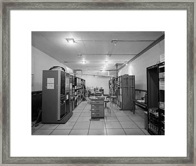 Computer Room, 1995 Framed Print by Granger