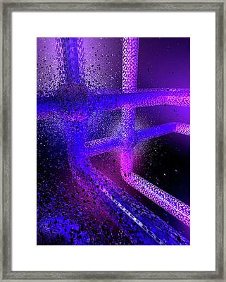 Computer Virus Framed Print by Paul Wootton/science Photo Library