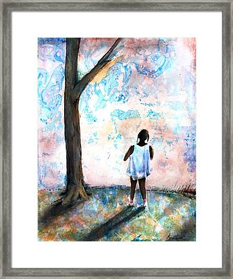 Comtemplation Framed Print by Ron Carson
