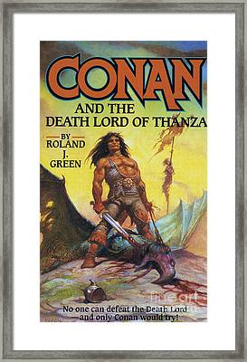 Conan And The Death Lord Of Thanza 1997 Framed Print by The Advertising Archives