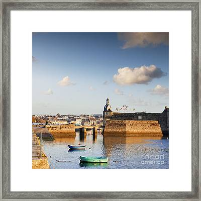Concarneau Brittany France Framed Print by Colin and Linda McKie