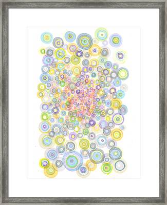 Concavity Framed Print by Regina Valluzzi