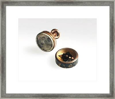 Concealed Compass Framed Print