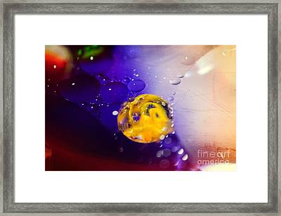 Conceive Framed Print by Charles Dobbs