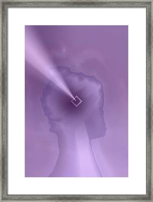 Concentration Framed Print by Kellice Swaggerty