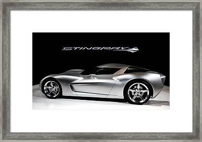 Concept Stingray Framed Print by Peter Chilelli