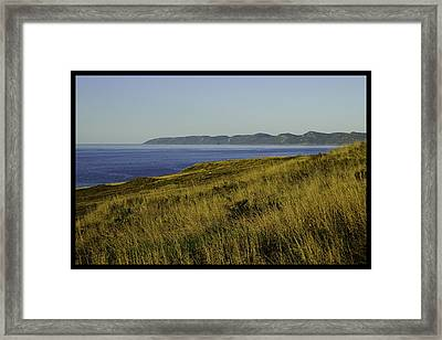 Conception Bay Framed Print