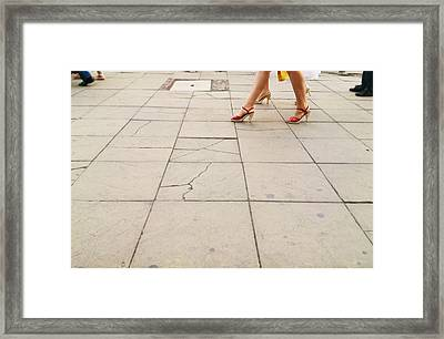 Concepts Framed Print by Lucy D