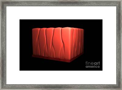 Conceptual Image Of Pseudostratified Framed Print by Stocktrek Images