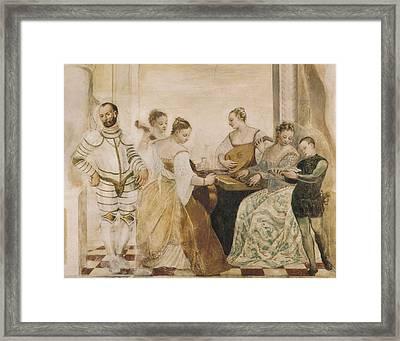 Concert 16th C.. Renaissance Art Framed Print by Everett
