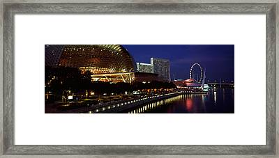 Concert Hall At The Waterfront Framed Print