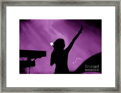 Concert Framed Print by Michal Bednarek