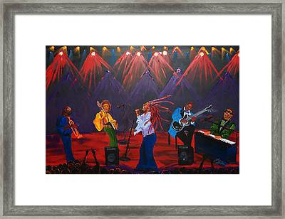Concert Of All Concerts Framed Print by Portland Art Creations