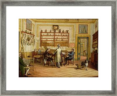 Concert Party At The Neopolitan Residence Of Kenneth Mackenzie 1744-81 1st Earl Of Seaforth, May Framed Print