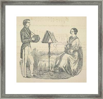 Concertina Framed Print by British Library