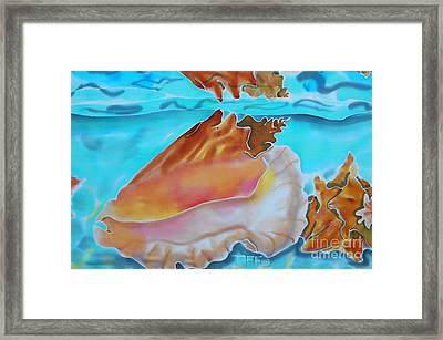 Conch Shallows Framed Print