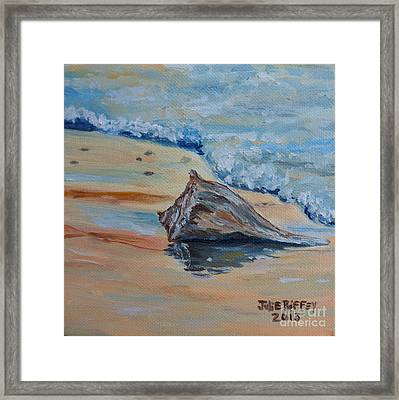 Conched Out Framed Print