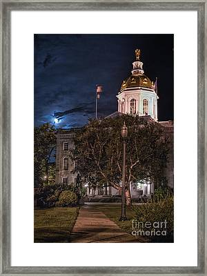 Concord By Moonlight Framed Print by Scott Thorp