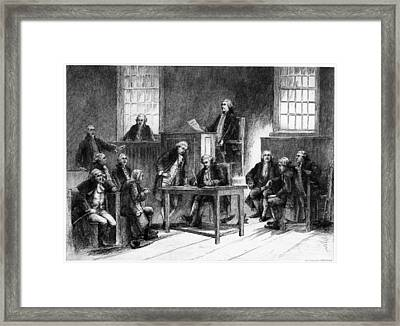 Concord Meeting House Framed Print by Granger