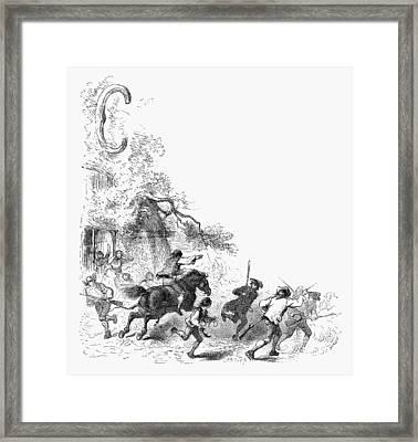Concord: Minutemen, 1775 Framed Print