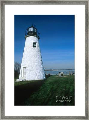 Concord Point Lighthouse Framed Print by Bruce Roberts