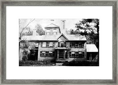 Concord The Wayside Framed Print