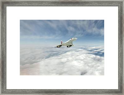 Concorde Legend Framed Print by J Biggadike