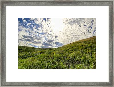 Concordia Bluff Framed Print by Anna-Lee Cappaert