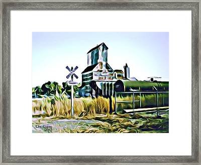 Concordia Crossing Framed Print