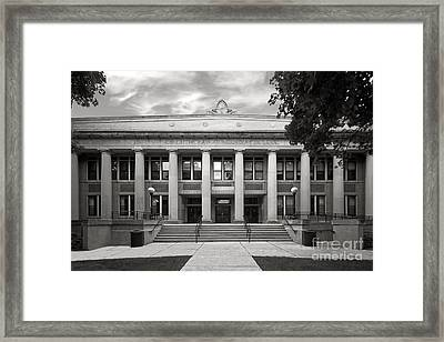 Concordia University Chicago Addison Hall Framed Print by University Icons