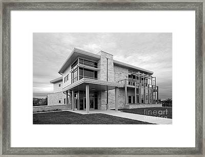 Concordia University Environmental Stewardship Center Framed Print by University Icons