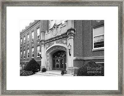 Concordia University Meyer Hall Framed Print by University Icons