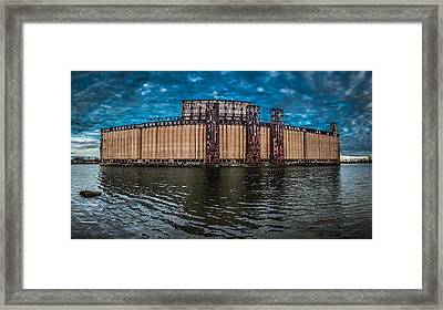 Concrete Central N1 Framed Print