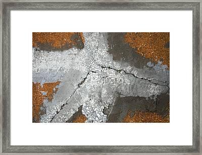 Concrete Evidence Framed Print