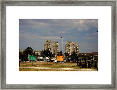 Concrete Jungle Framed Print by Frederic Vigne