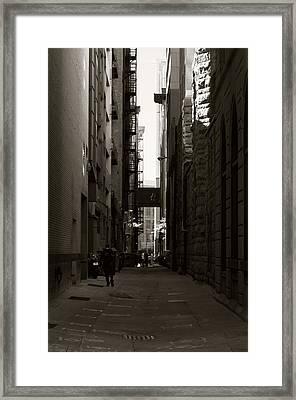 Concrete Valley II Framed Print