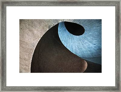 Concrete Wave Framed Print