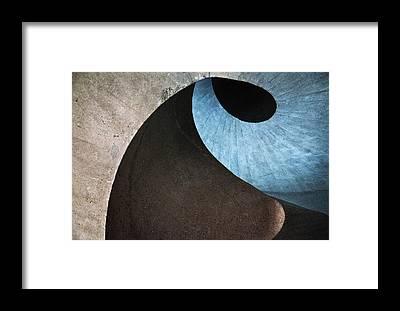 Stairwell Framed Prints