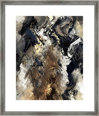 Concretion Framed Print by Kevin Trow