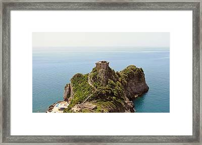 Concu Dei Marini Amalfi Framed Print