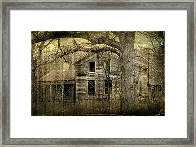 Condemned From Life Framed Print by Melissa Smith