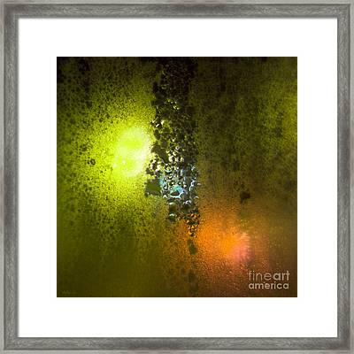 Condensation 08 - Saga - Citrus Framed Print by Pete Edmunds