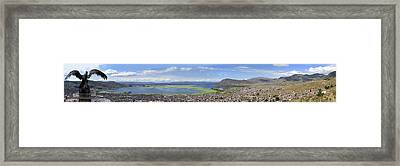 Condor Hill, Puno, Peru Framed Print