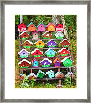 Condos For Sale Cheep Framed Print by Barbara McDevitt