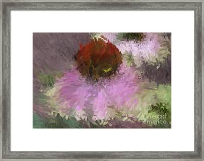 Cone Of Beauty Art Framed Print