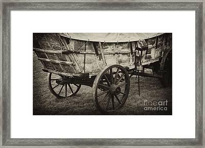 Conestoga Wagon Framed Print